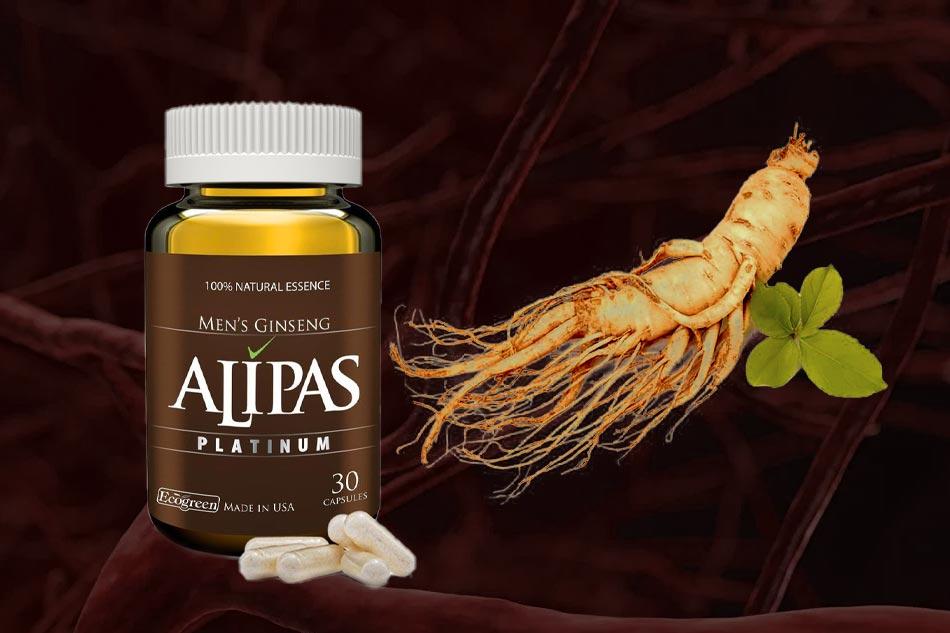 Sâm Alipas - hỗ trợ tăng cường sinh lực phái mạnh
